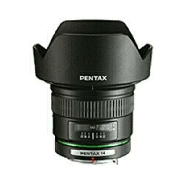 カメラレンズ smc PENTAX-DA 14mmF2.8ED[IF] APS-C用 ブラック [ペンタックスK /単焦点レンズ]