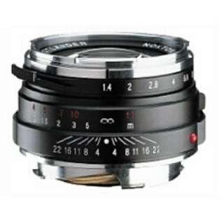 カメラレンズ 40mm F1.4 MC(マルチコート) NOKTON Classic Series(ノクトン クラシックシリーズ) ブラック [ライカM /単焦点レンズ]