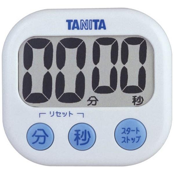 タニタ でか見えタイマー TD-384-WH 調理器具