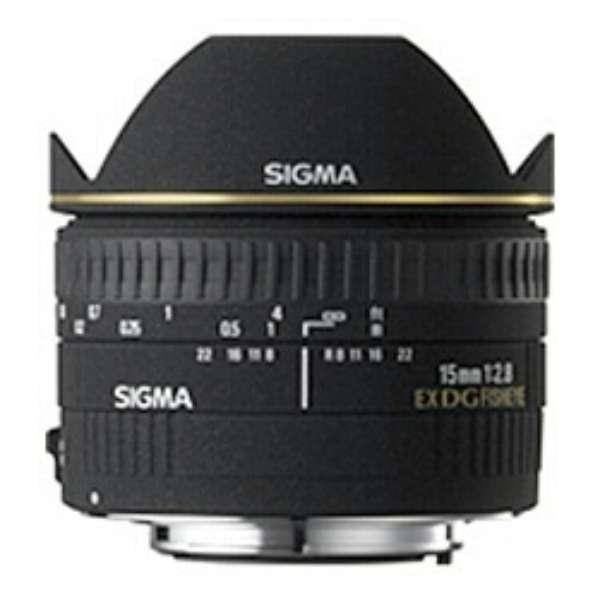 カメラレンズ 15mm F2.8 EX DG DIAGONAL FISHEYE ブラック [ニコンF /単焦点レンズ]
