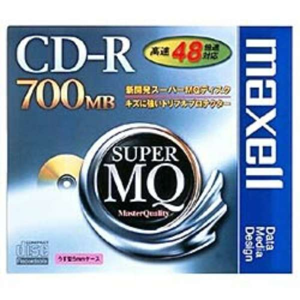 CDR700S.1P データ用CD-R SuperMQシリーズ [1枚 /700MB]