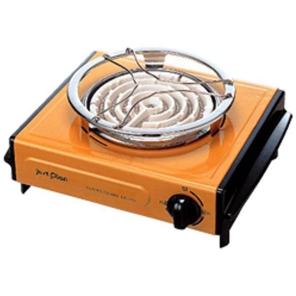 IEC-105 電気コンロ オレンジ [消費電力600W]