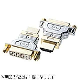 変換・延長ケーブル シルバー AD-HD01 [HDMI⇔DVI]