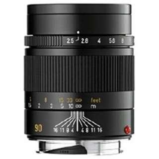 カメラレンズ M F2.5/90mm SUMMARIT(ズマリット) ブラック [ライカM /単焦点レンズ]