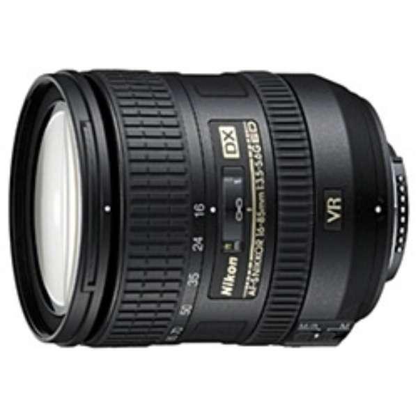 カメラレンズ AF-S DX NIKKOR 16-85mm f/3.5-5.6G ED VR APS-C用 NIKKOR(ニッコール) ブラック [ニコンF /ズームレンズ]