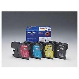 LC11-4PK 【ブラザー純正】インクカートリッジ4色パック LC11-4PK 対応型番:MFC-6890CN、MFC-6490CN、MFC-5890CN 他 4色パック