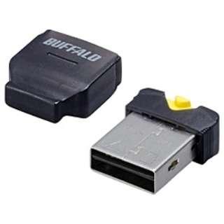 microSD専用 USB2.0/1.1フラッシュアダプター(ブラック) BSCRMSDCBK
