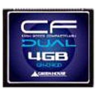 コンパクトフラッシュ GH-CF*Dシリーズ GH-CF4GD [4GB]