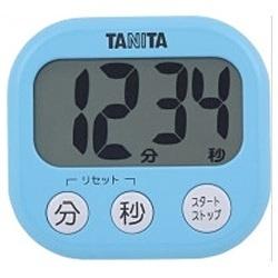 タニタ デジタルタイマー でか見えタイマー TD-384-BL 調理器具