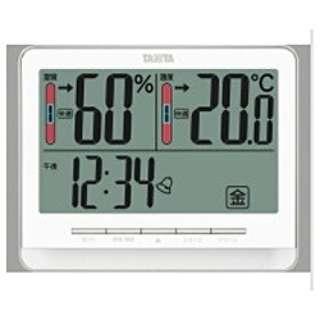 TT-538 温湿度計 ホワイト [デジタル]