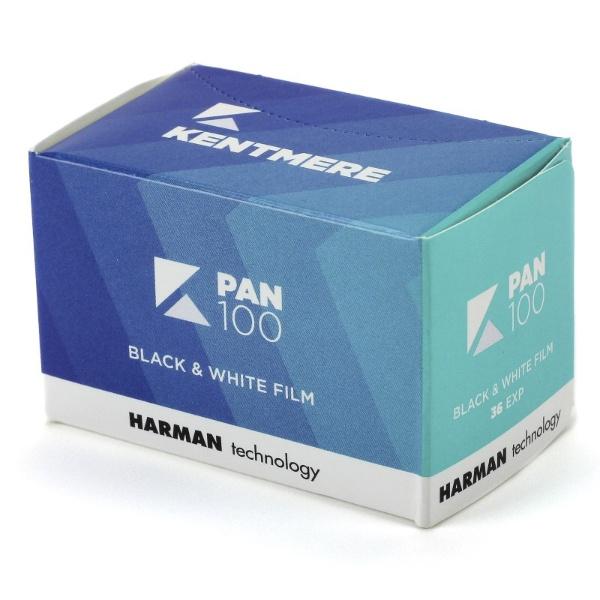 中庸感度モノクロフィルム Kentmere PAN 100 135-36枚撮り KMP10013536