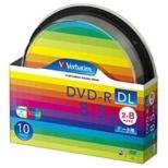 DHR85HP10SV1 データ用DVD-R ホワイト [10枚 /8.5GB /インクジェットプリンター対応]