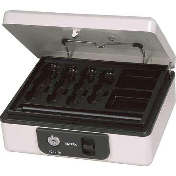 SCB-10 手提金庫 キャッシュボックス [鍵式]