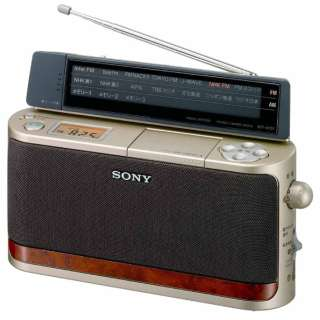ICF-A101 ホームラジオ [AM/FM]