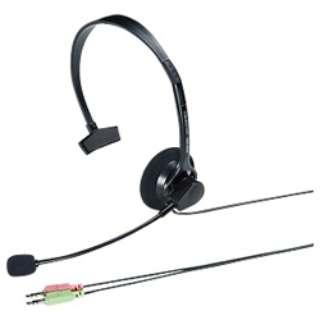 MM-HS519NC ヘッドセット [φ3.5mmミニプラグ /片耳 /ヘッドバンドタイプ]