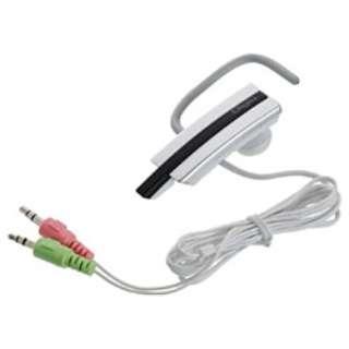 ヘッドセット Digio シルバー [φ3.5mmミニプラグ /片耳 /イヤフックタイプ]