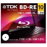 BED25PWA10A データ用BD-RE スタンダードシリーズ [10枚 /25GB /インクジェットプリンター対応]
