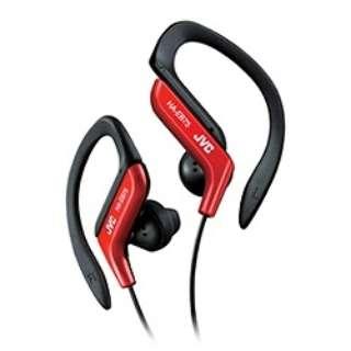 耳かけ型 レッド HA-EB75-R [防滴 /φ3.5mm ミニプラグ]
