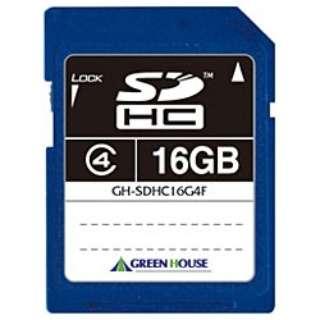 SDHCカード GH-SDHC*4Fシリーズ GH-SDHC16G4F? [16GB /Class4]