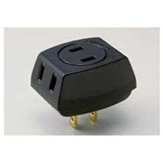 トリプルタップ ブラック LP-A1530(BK) [直挿し /3個口 /スイッチ無]