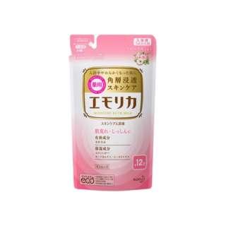 emollica(エモリカ) 薬用スキンケア入浴液 フローラルの香り つめかえ用 360ml 〔入浴剤〕