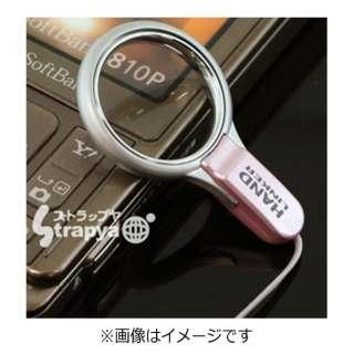 【HandLinker】ベアリング携帯ストラップ(ピンク) 41-129692