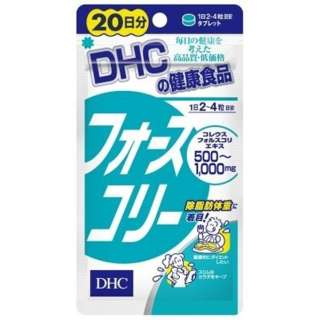 DHC(ディーエイチシー) フォースコリー 20日分(80粒)〔栄養補助食品〕