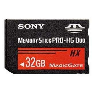 メモリースティック PRO-HG デュオ MS-HXBシリーズ MS-HX32B [32GB]