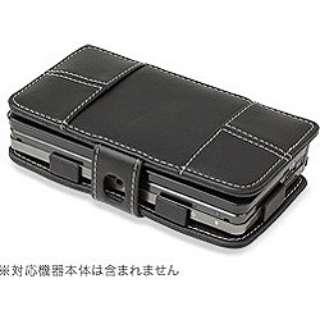 PDAIR レザーケース for ニンテンドー3DS 横開きタイプ