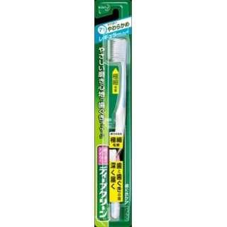 ディープクリーン 歯ブラシ レギュラー やわらかめ(1本入り)〔歯ブラシ〕