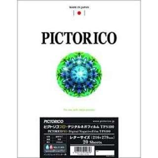 ピクトリコプロ・デジタルネガフィルムTPS100(レターサイズ/20枚入り) TPS100N-LTR/20