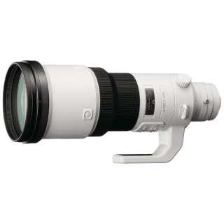 カメラレンズ 500mm F4 G SSM SAL500F40G [ソニーA(α) /単焦点レンズ]