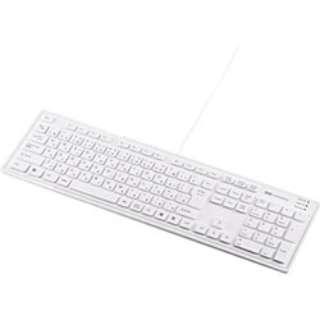 SKB-SL16W キーボード ホワイト [USB /コード ]