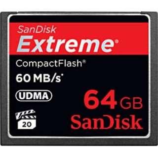 コンパクトフラッシュ Extreme(エクストリーム)シリーズ SDCFX-064G-J61 [64GB]