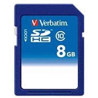 SDHCカード Verbatim(バーベイタム) SDHC8GJVB1 [8GB /Class10]
