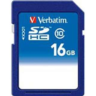 16GB・Class10対応SDHCカード SDHC16GJVB1