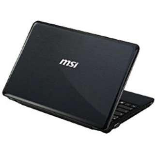 U270-412JP ノートパソコン X-SLIM ブラック [11.6型 /AMD Eシリーズ /HDD:320GB /メモリ:2GB /2012年5月モデル /SO-DIMM(空きスロット:1)]