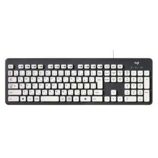 K310 丸洗いできるキーボード グレー [USB /コード ]