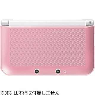 ニンテンドー3DS LL用 TPUカバー クリアピンク【3DS LL】