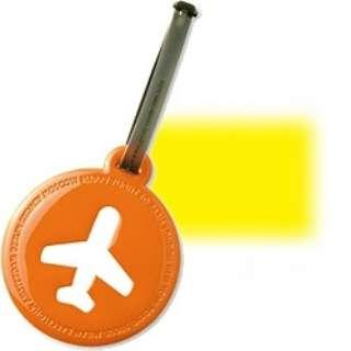 ALIFE ハッピーフライト ラゲージ タグ SNCF-011-5 イエロー