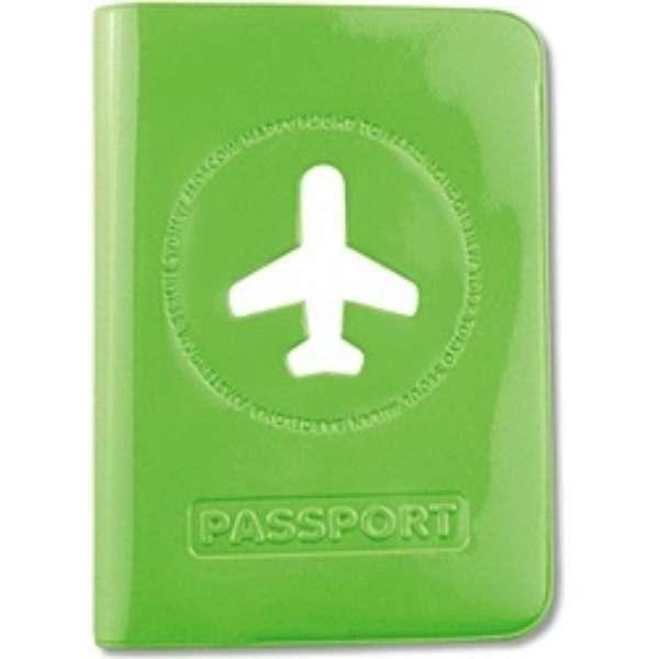ALIFE ハッピーフライト パスポートカバー SNCF-012-3 グリーン
