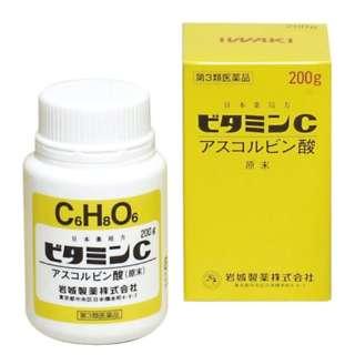 【第3類医薬品】 ビタミンC「イワキ」(200g)〔ビタミン剤〕