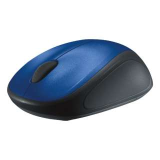 M235rBL マウス Wireless Mouse ブルー  [光学式 /3ボタン /USB /無線(ワイヤレス)]