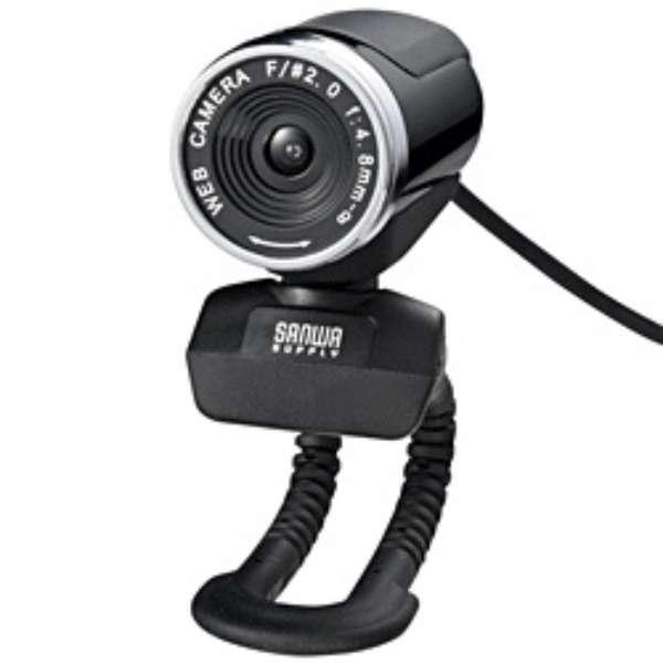 CMS-V37 ウェブカメラ ブラック [有線]