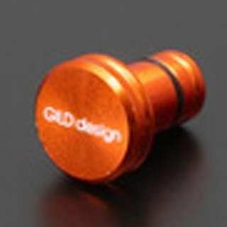 〔イヤホンジャックアクセサリー〕 New earphone jack cover オレンジ GA-200OR