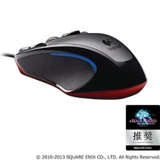 G300R ゲーミングマウス Gシリーズ ブラック  [光学式 /9ボタン /USB /有線]