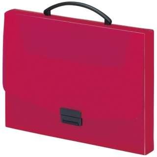 バッグ A4サイズ AQUA DROPs A-5005-3 赤