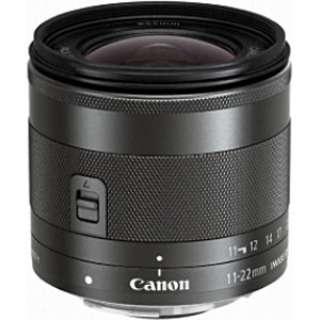 カメラレンズ EF-M11-22mm F4-5.6 IS STM ブラック [キヤノンEF-M /ズームレンズ]