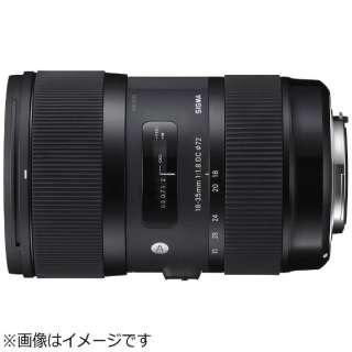 カメラレンズ 18-35mm F1.8 DC HSM APS-C用 Art ブラック [キヤノンEF /ズームレンズ]