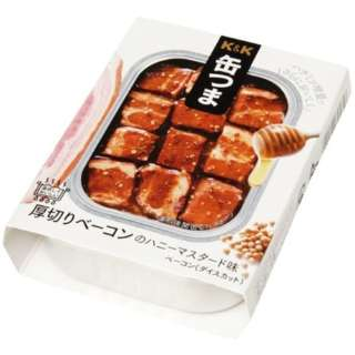 缶つま レストラン 厚切りベーコンのハニーマスタード味 105g【おつまみ・食品】